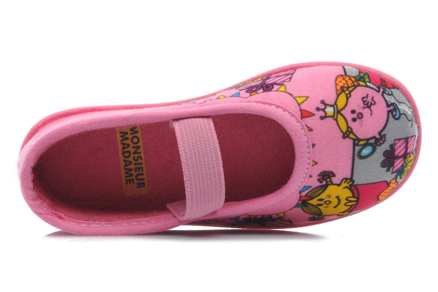 Slippers Be Only Mme Princesse (Ballerine) Pink view from the left