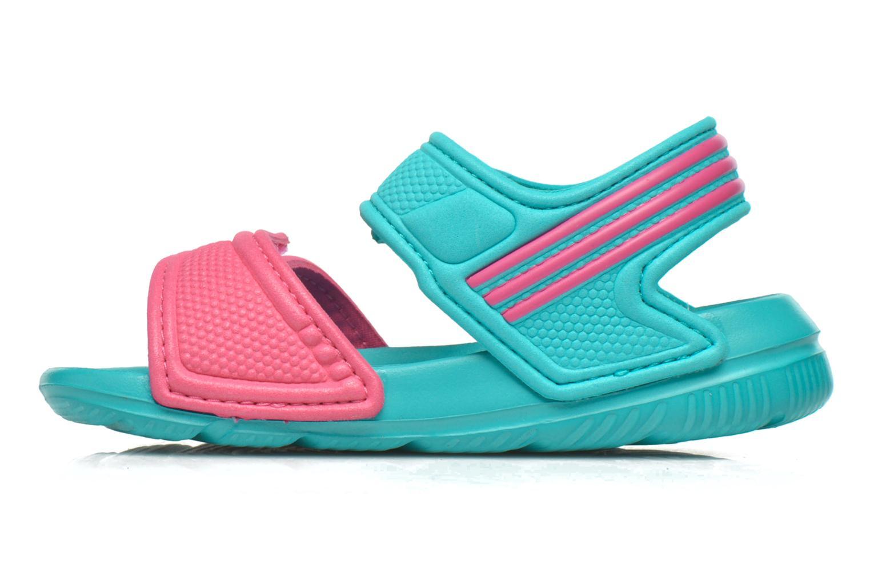 Sandales et nu-pieds Adidas Performance Akwah 9 I Vert vue face