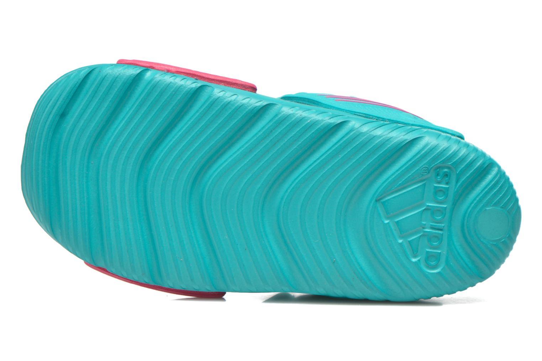 Sandales et nu-pieds Adidas Performance Akwah 9 I Vert vue haut