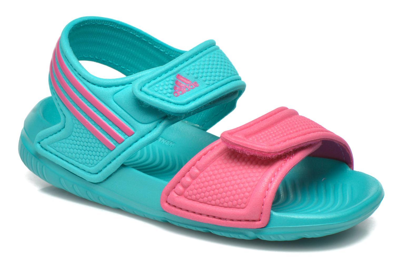 Sandales et nu-pieds Adidas Performance Akwah 9 I Vert vue détail/paire