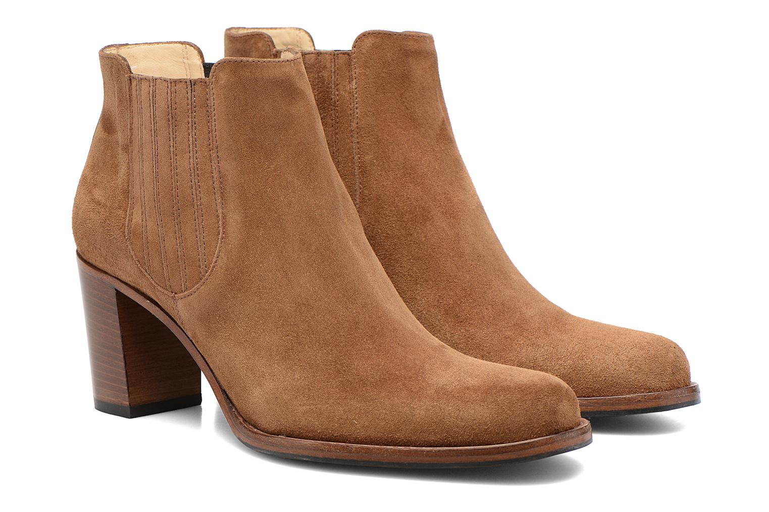 Ankle boots Free Lance Legend 7 Boot Elast Brown 3/4 view