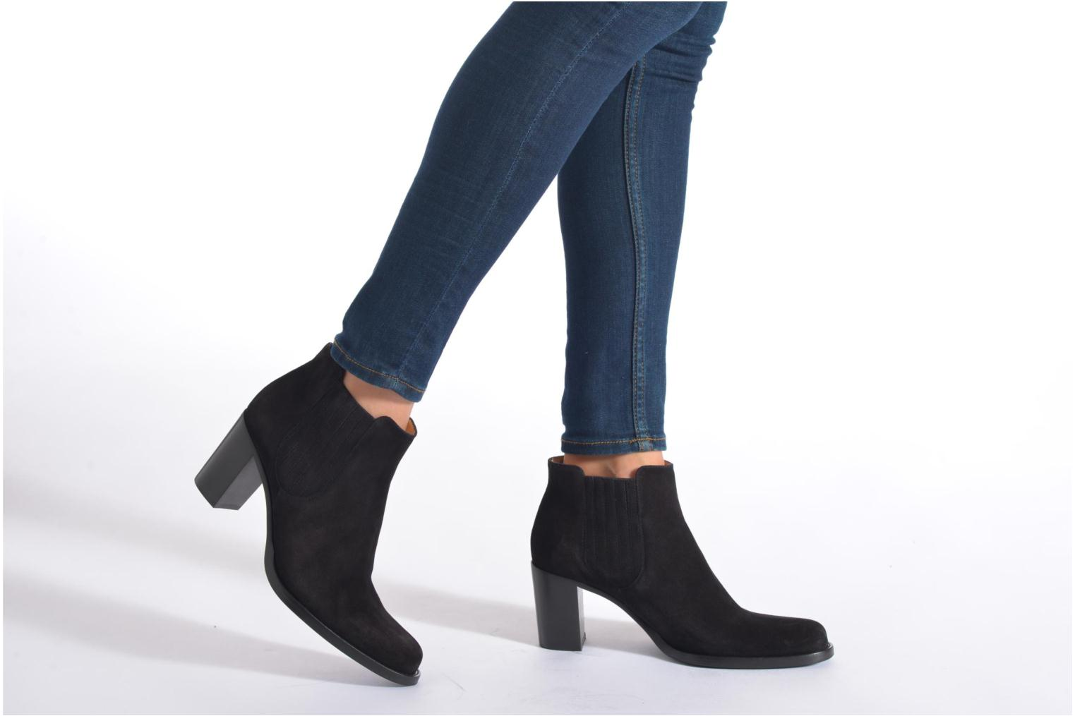 Ankle boots Free Lance Legend 7 Boot Elast Brown view from underneath / model view