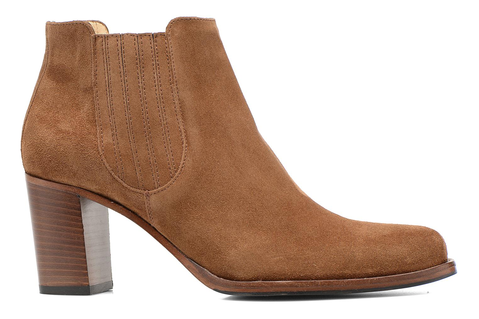 Ankle boots Free Lance Legend 7 Boot Elast Brown back view