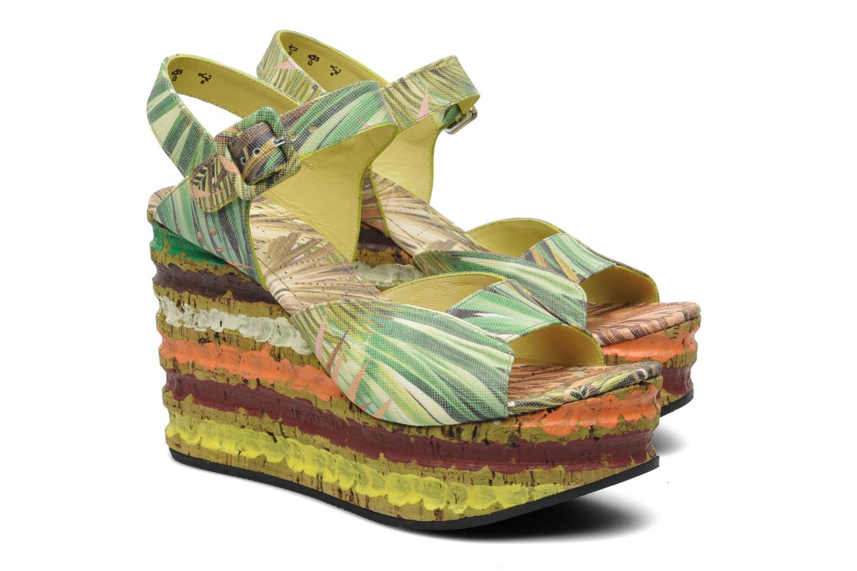 Sandales et nu-pieds Free Lance Straty 7 sandale buckle Multicolore vue 3/4