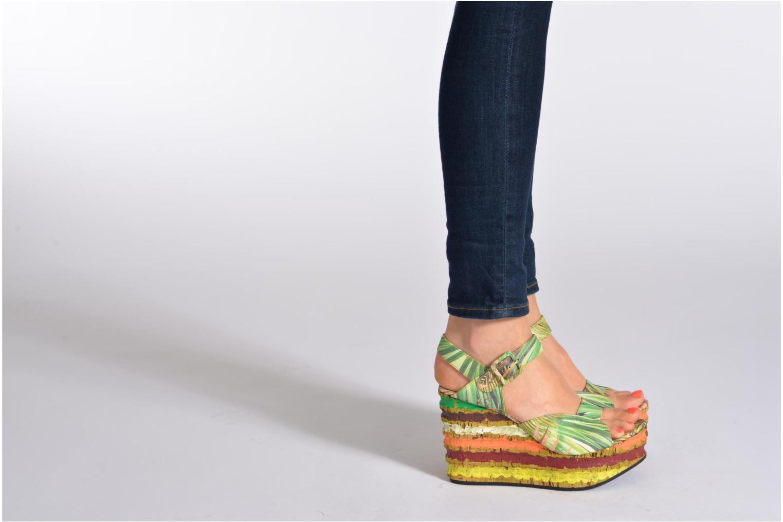 Sandales et nu-pieds Free Lance Straty 7 sandale buckle Multicolore vue bas / vue portée sac