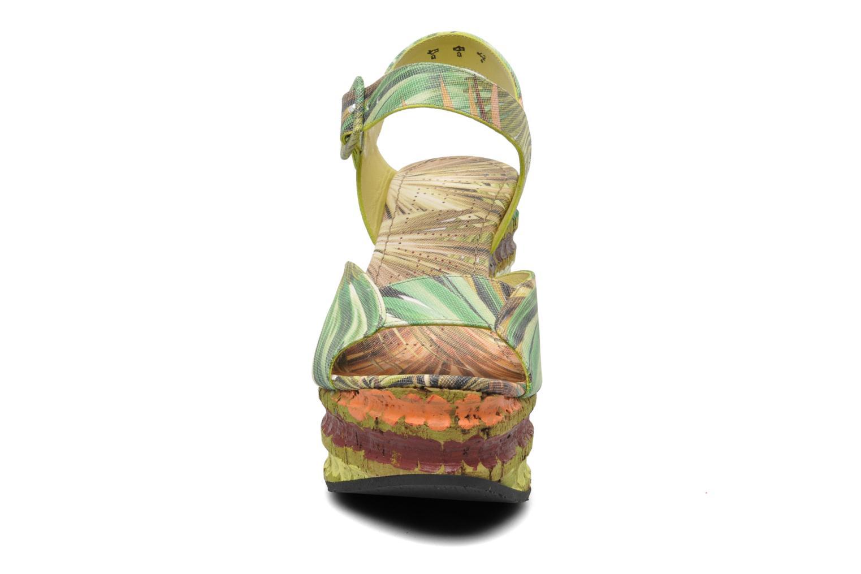 Sandales et nu-pieds Free Lance Straty 7 sandale buckle Multicolore vue portées chaussures