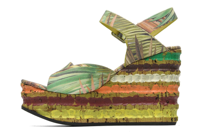 Sandales et nu-pieds Free Lance Straty 7 sandale buckle Multicolore vue face