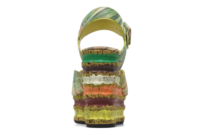 Sandales et nu-pieds Free Lance Straty 7 sandale buckle Multicolore vue droite