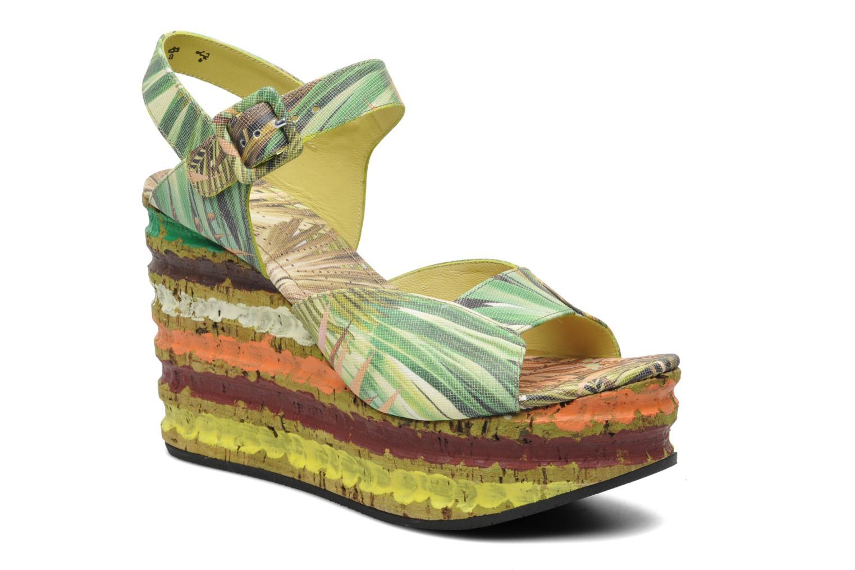 Sandales et nu-pieds Free Lance Straty 7 sandale buckle Multicolore vue détail/paire