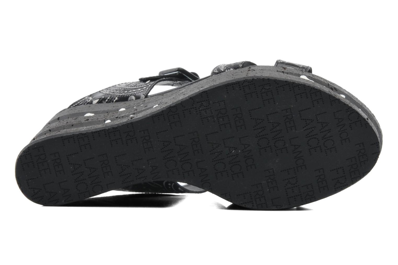 Clogs & Pantoletten Free Lance Heavy 7 sandale mehrfarbig ansicht von oben