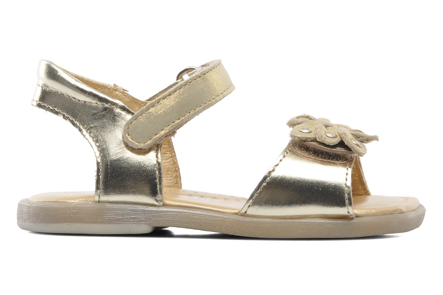 Sandals Babybotte Taline Bronze and Gold back view