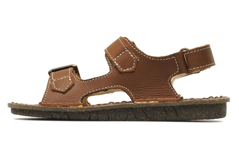 Sandales et nu-pieds El Naturalista Kiri E277 Marron vue face