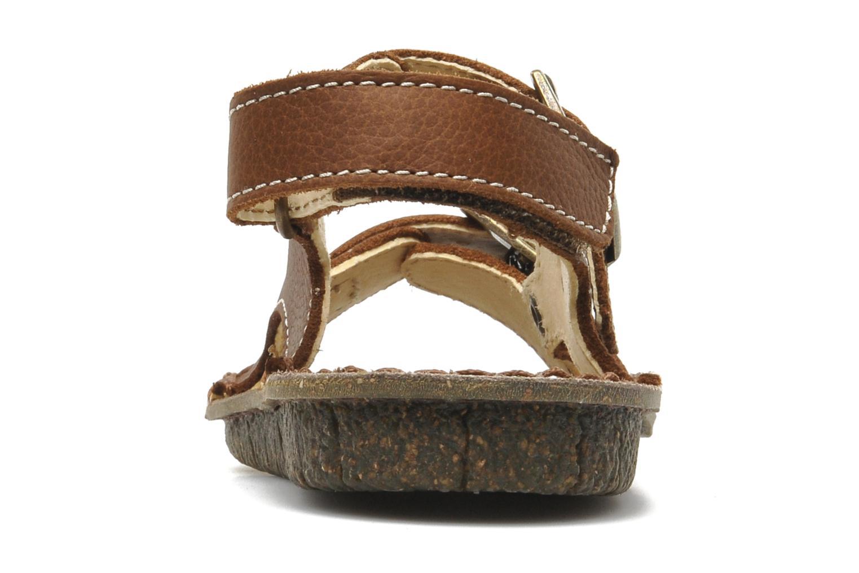 Sandales et nu-pieds El Naturalista Kiri E277 Marron vue droite