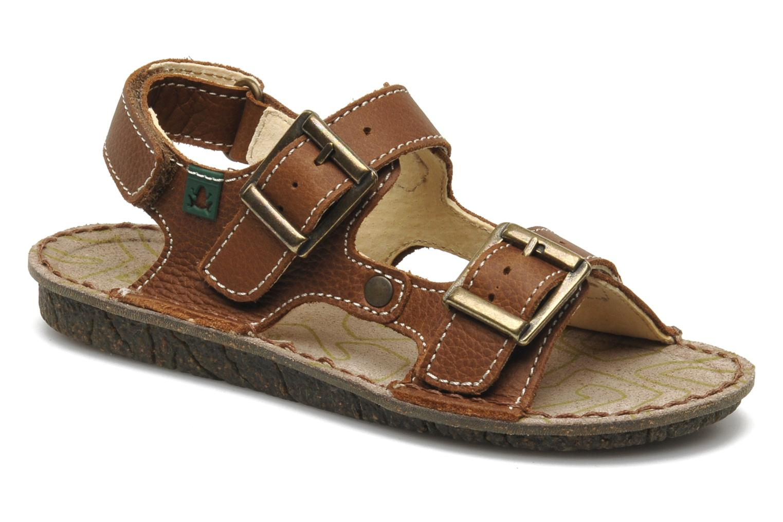 Sandales et nu-pieds El Naturalista Kiri E277 Marron vue détail/paire