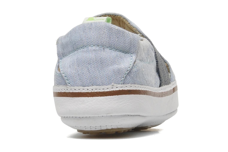 Sneakers Tip Toey Joey Slippy Blauw rechts