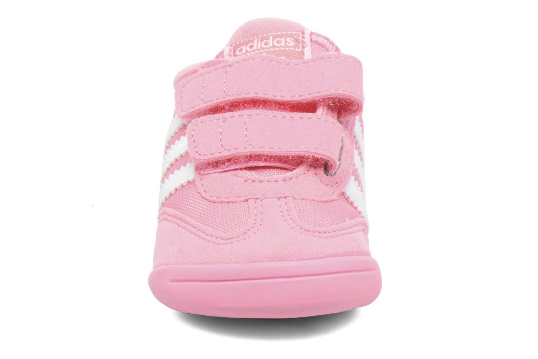 Trainers Adidas Originals Dragon L2W Crib Pink model view