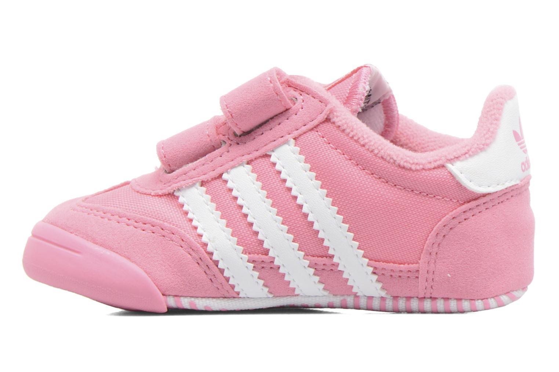 Baskets Adidas Originals Dragon L2W Crib Rose vue face