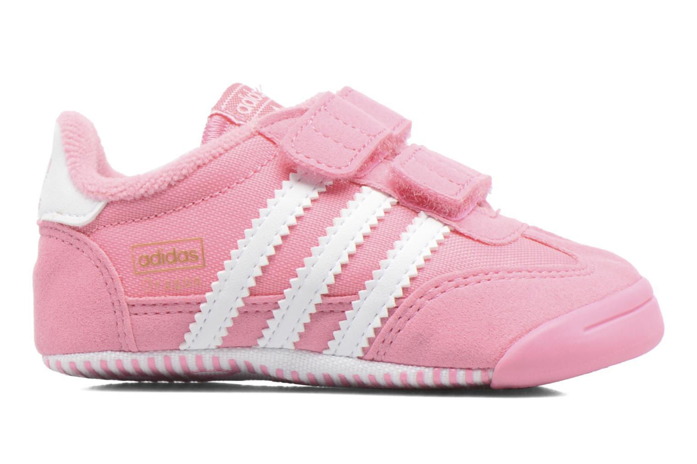 Sneaker Adidas Originals Dragon L2W Crib rosa ansicht von hinten