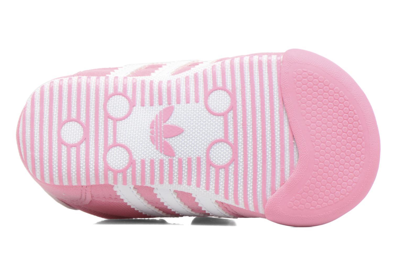 Sneaker Adidas Originals Dragon L2W Crib rosa ansicht von oben