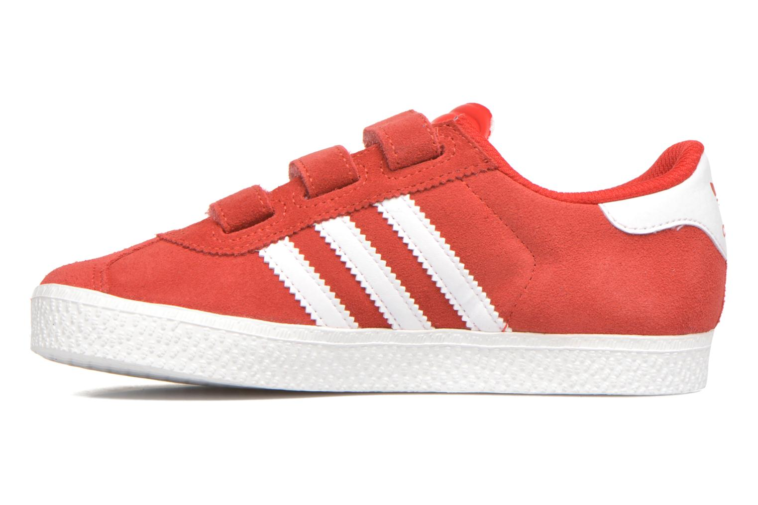 Trainers Adidas Originals GAZELLE 2 CF C Red front view