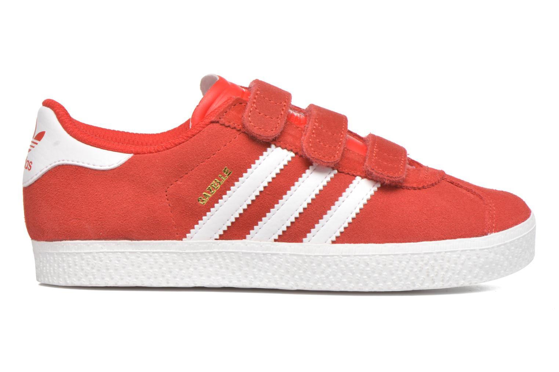 Sneakers Adidas Originals GAZELLE 2 CF C Rød se bagfra