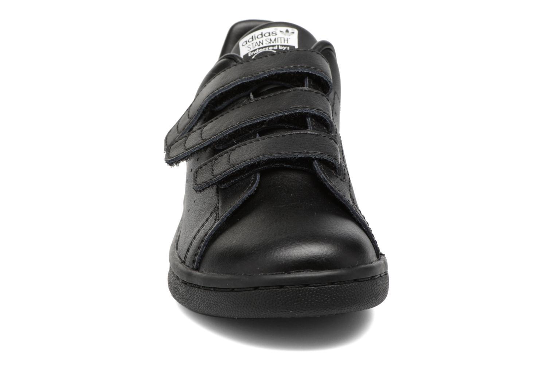 Baskets Adidas Originals Stan Smith Cf C Noir vue portées chaussures