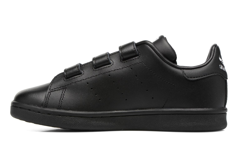 Baskets Adidas Originals Stan Smith Cf C Noir vue face
