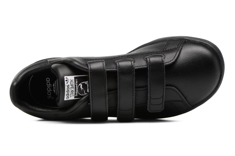 Baskets Adidas Originals Stan Smith Cf C Noir vue gauche