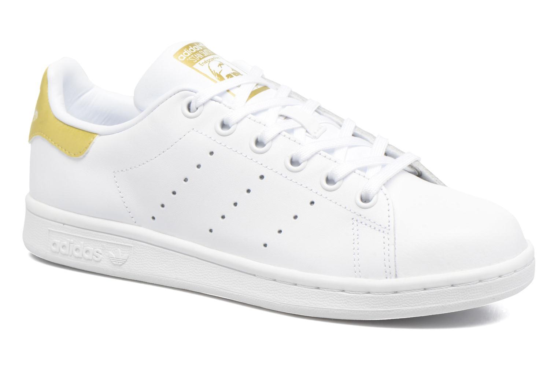 Adidas Originals STAN SMITH J (Blanc) - Baskets chez Sarenza (286447) 4a56f041e0e1