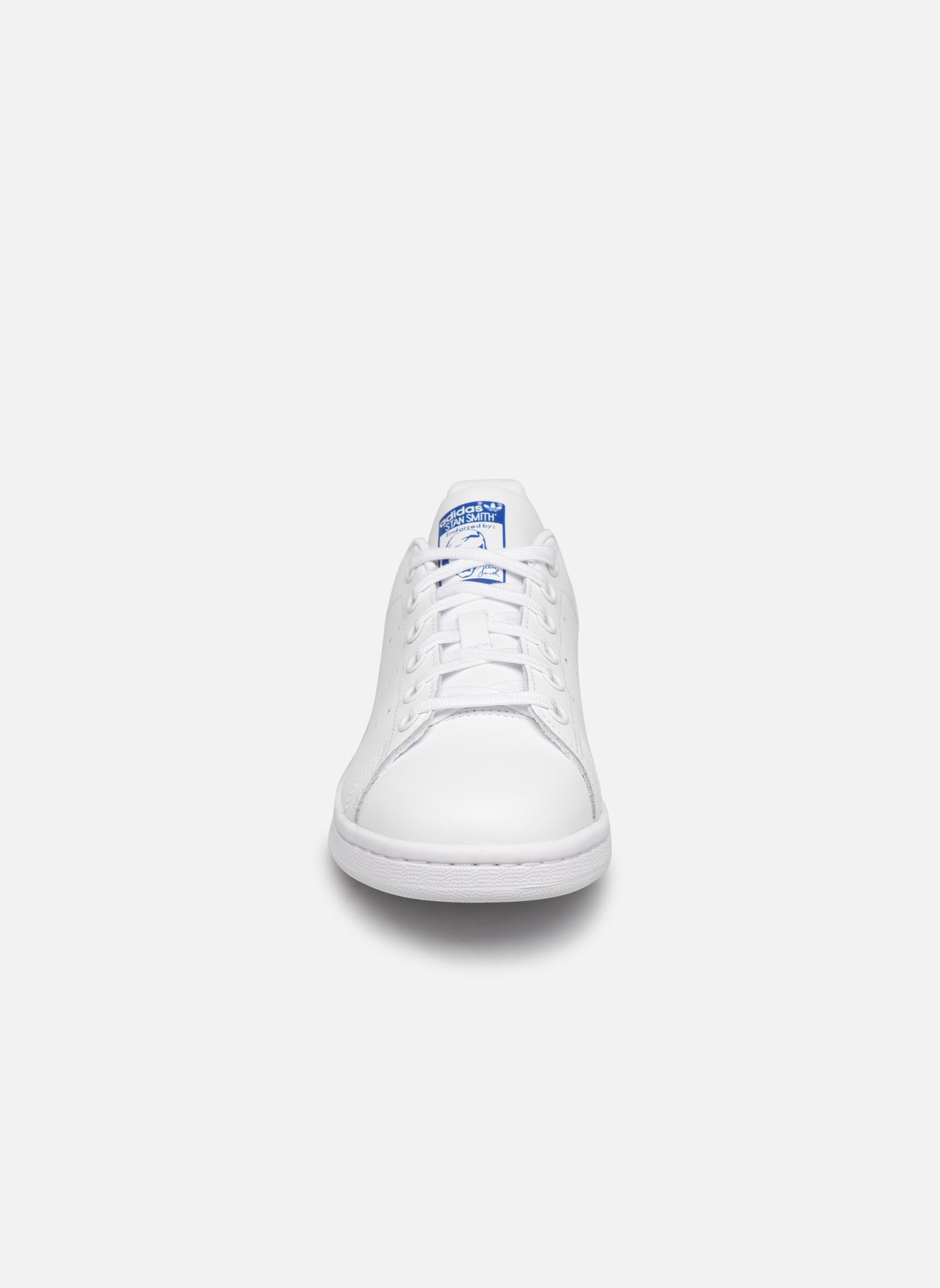 Sneaker Adidas Originals STAN SMITH J weiß schuhe getragen