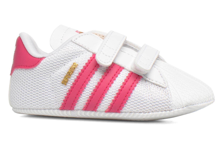 Baskets Adidas Originals SUPERSTAR CRIB Blanc vue derrière