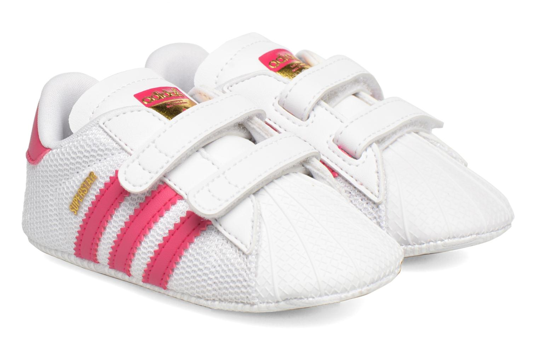 Trainers Adidas Originals SUPERSTAR CRIB White detailed view/ Pair view