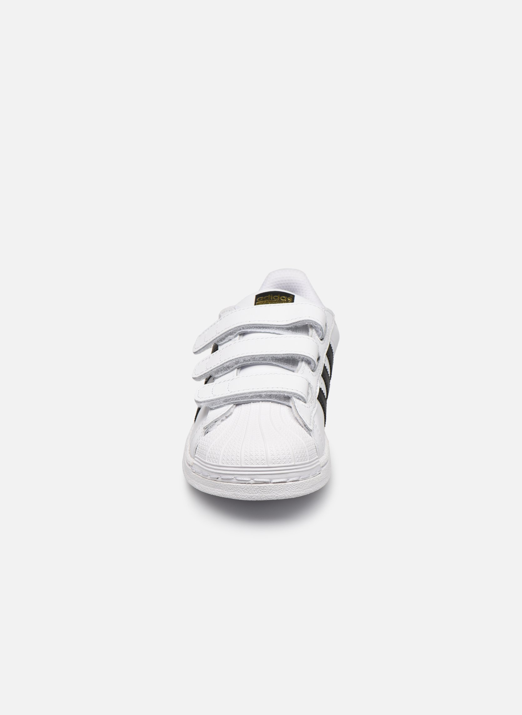 Baskets Adidas Originals Superstar Foundation Cf C Blanc vue portées chaussures