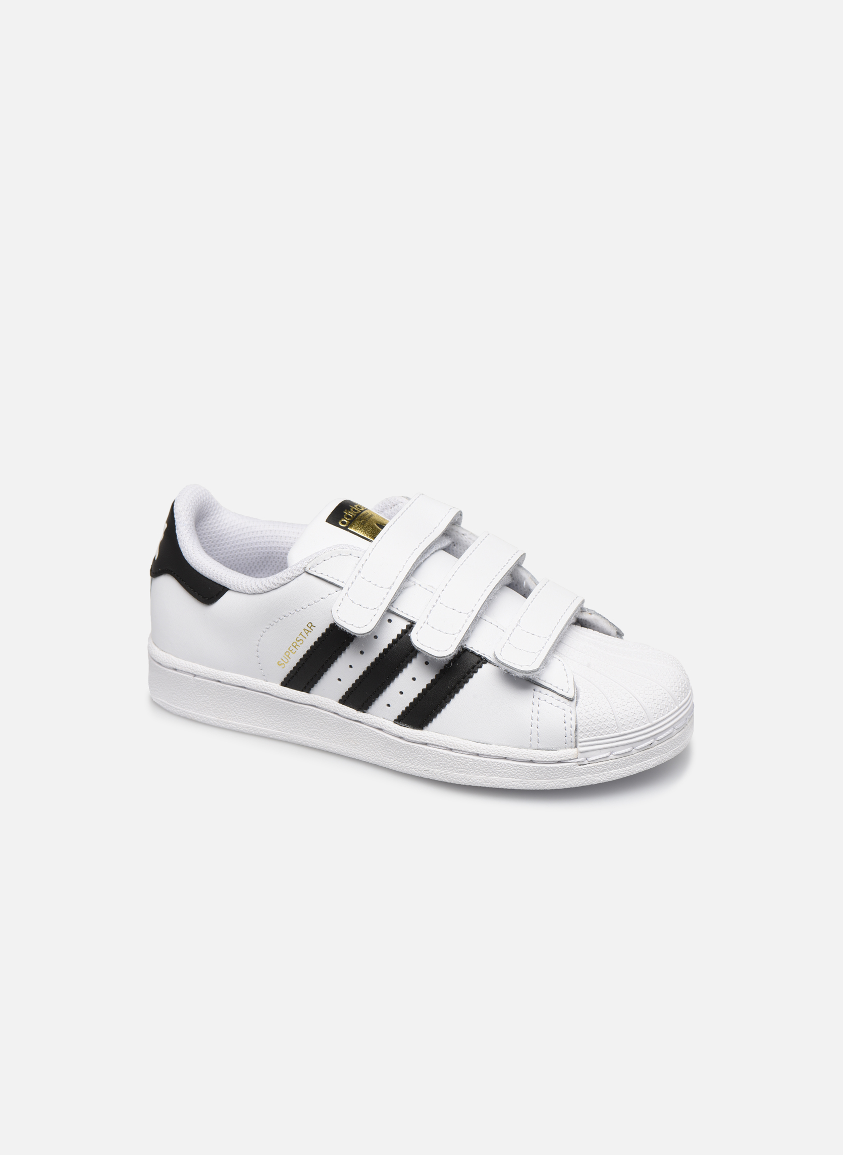 Trainers Adidas Originals Superstar Foundation Cf C White detailed view/ Pair view