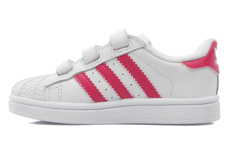 Sneakers Adidas Originals SUPERSTAR FOUNDATION CF I Wit voorkant