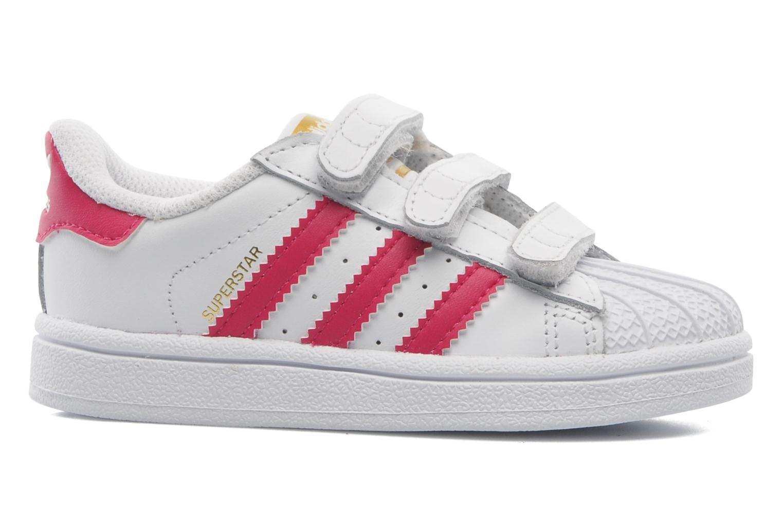 Sneakers Adidas Originals SUPERSTAR FOUNDATION CF I Wit achterkant