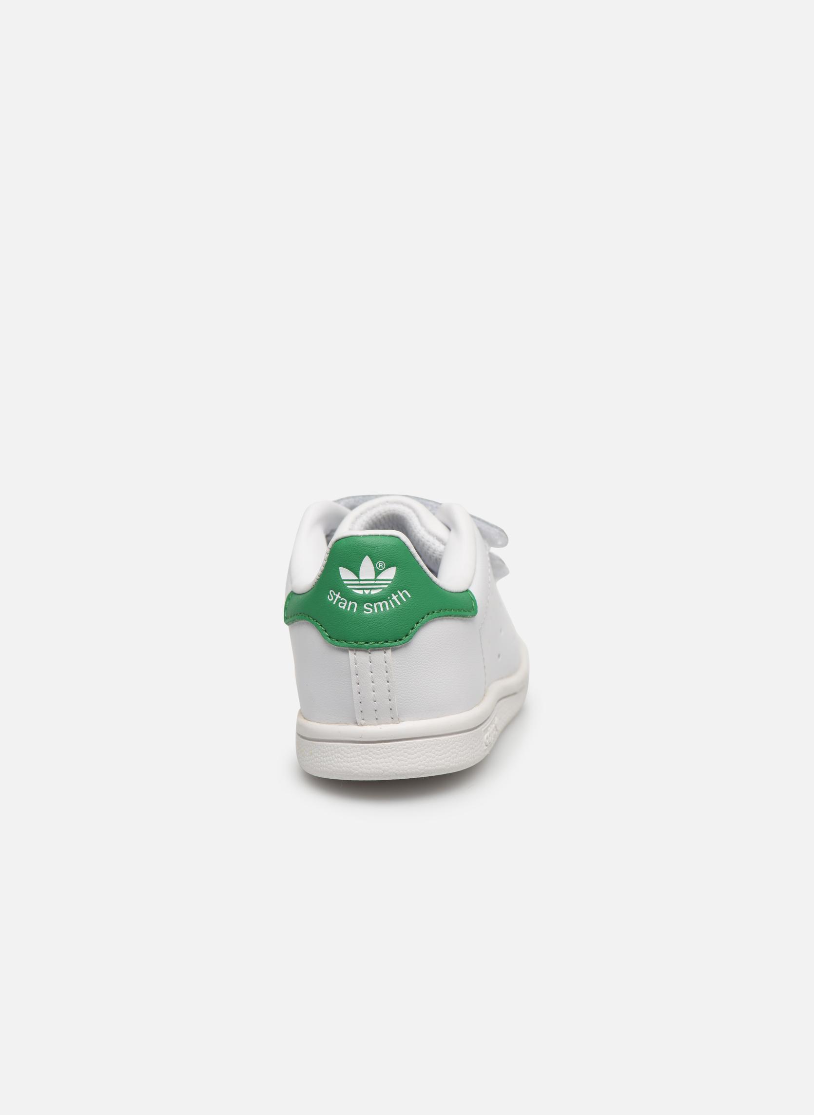 Sneakers Adidas Originals SUPERSTAR FOUNDATION CF I Wit rechts