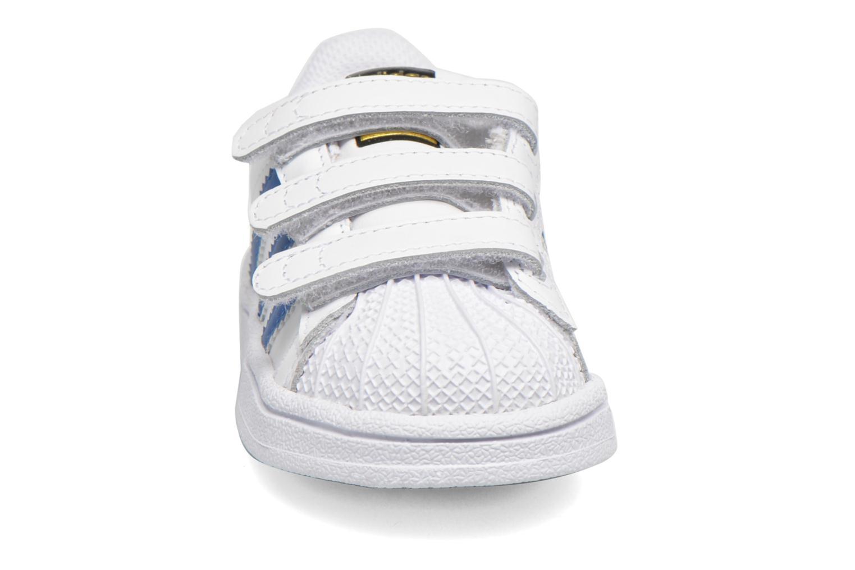 Sneaker Adidas Originals SUPERSTAR FOUNDATION CF I weiß schuhe getragen