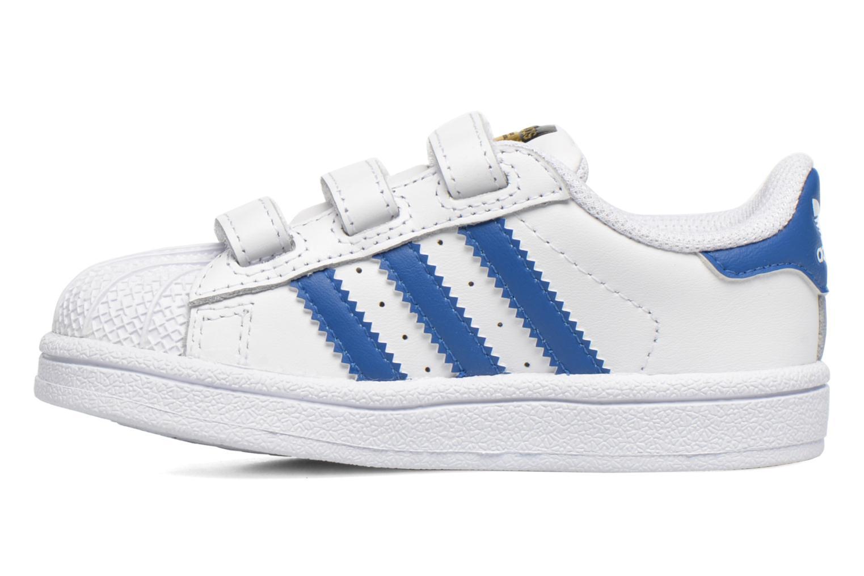 Sneaker Adidas Originals SUPERSTAR FOUNDATION CF I weiß ansicht von vorne