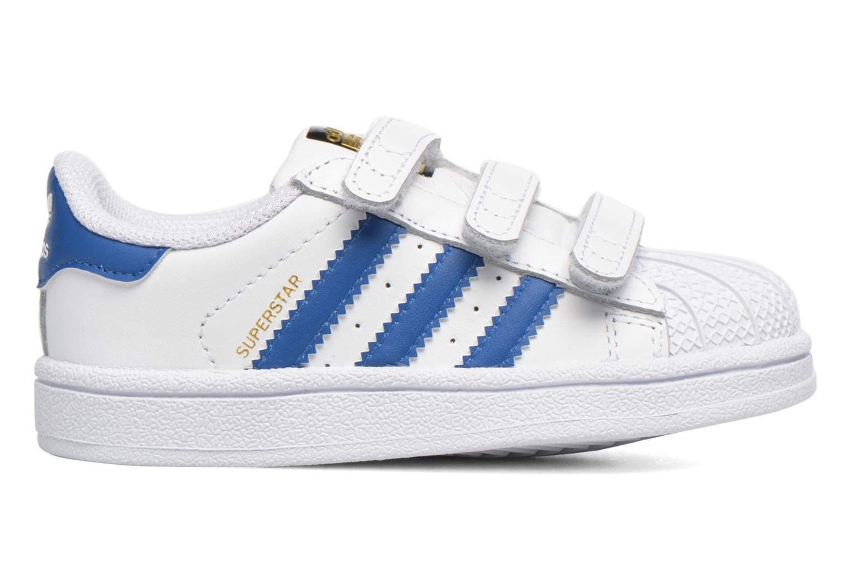 Baskets Adidas Originals SUPERSTAR FOUNDATION CF I Blanc vue derrière