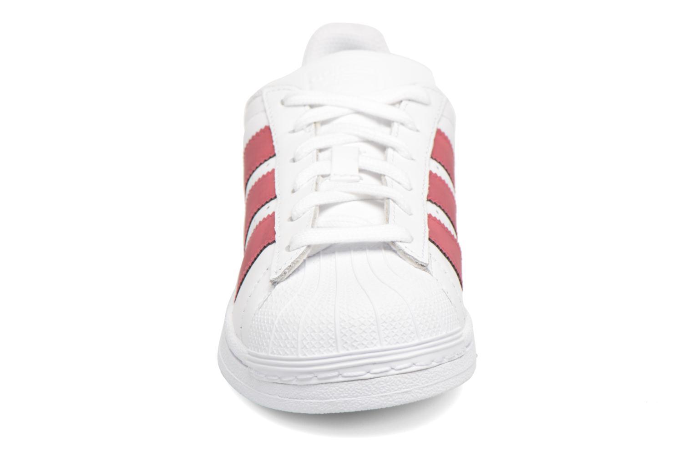 Ftwbla/Noiess/Ftwbla 2 Adidas Originals SUPERSTAR J (Blanc)