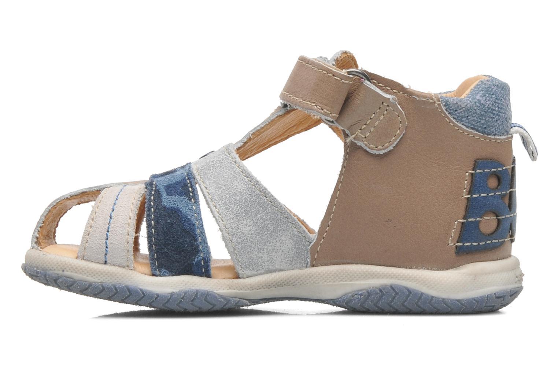 Sandales et nu-pieds Babybotte TICTAK Marron vue face