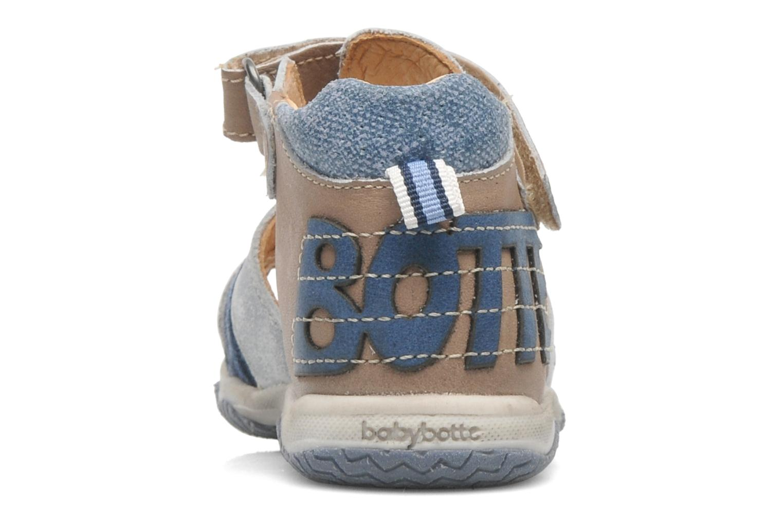Sandales et nu-pieds Babybotte TICTAK Marron vue droite