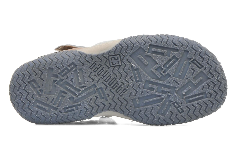 Sandales et nu-pieds Babybotte TICTAK Marron vue haut