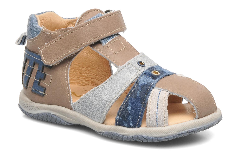 Sandales et nu-pieds Babybotte TICTAK Marron vue détail/paire