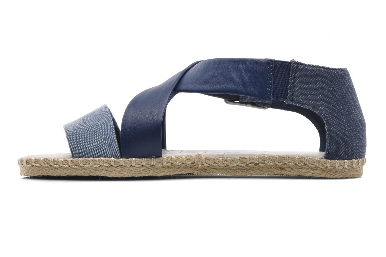 Sandales et nu-pieds G-Star Aria Flat Salon Strap Bleu vue face