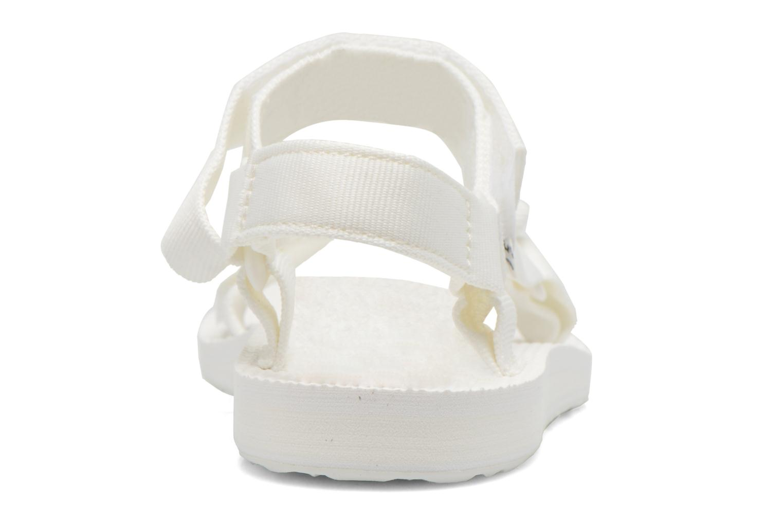 Sandaler Teva Original universal W Hvid Se fra højre