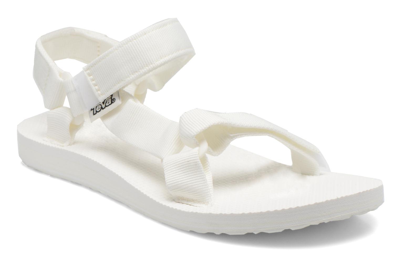 Sandaler Teva Original universal W Hvid detaljeret billede af skoene