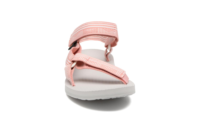 Sandalen Teva Original universal W rosa schuhe getragen