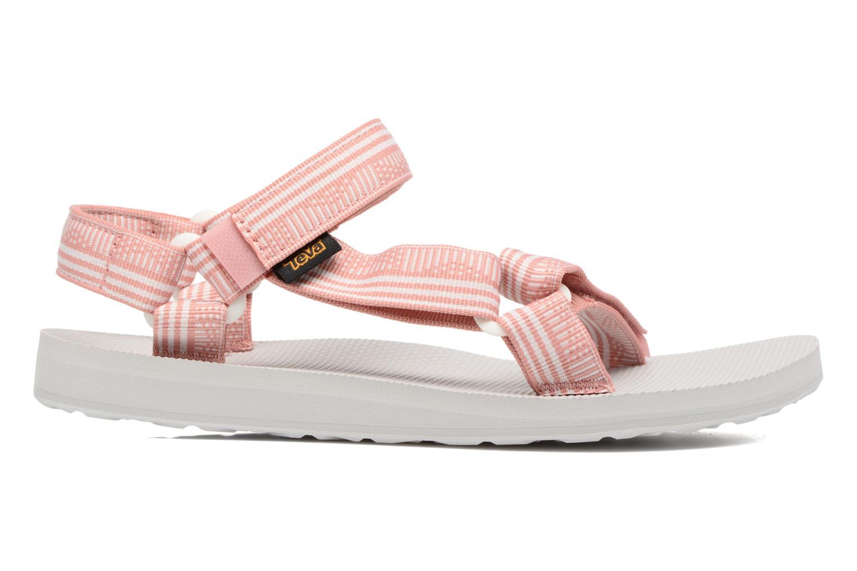 Sandales et nu-pieds Teva Original universal W Rose vue derrière